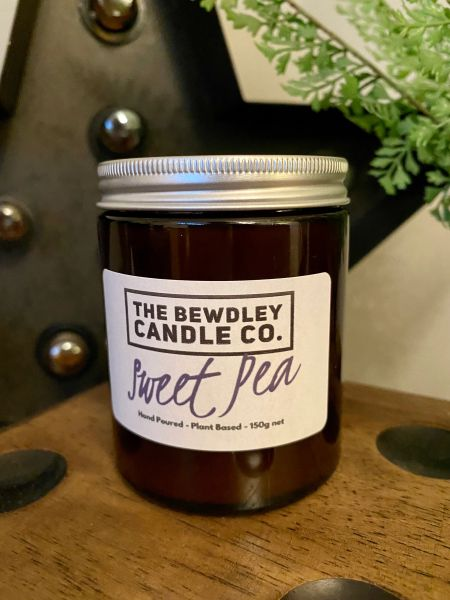 Sweet Pea Candle 150g net