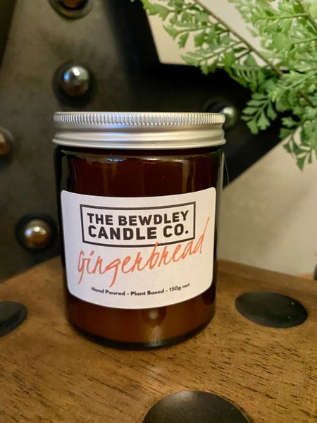 Gingerbread Candle 150g net