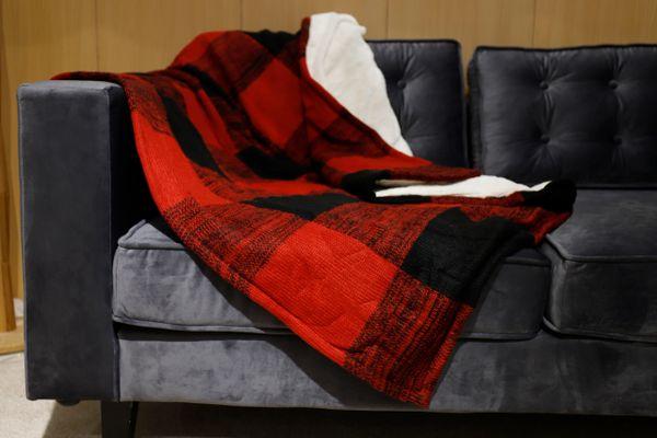 Battilo Sherpa Throw Blanket Luxury 50x60 Inches
