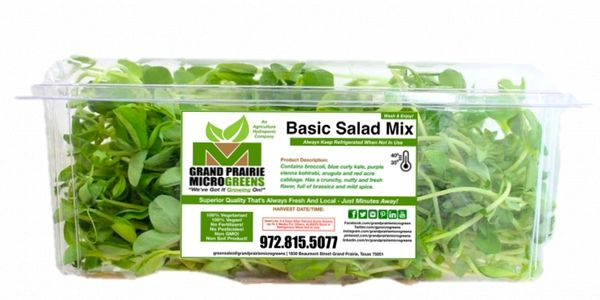 GRAND PRAIRIE MICROGREENS Means Quality & Freshness.