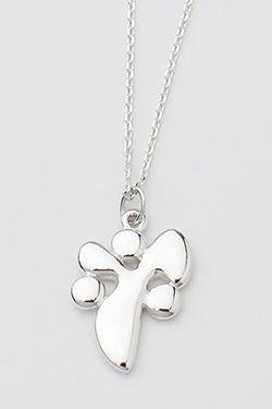 YANA Necklace w/ Solid YANA Symbol Pendant