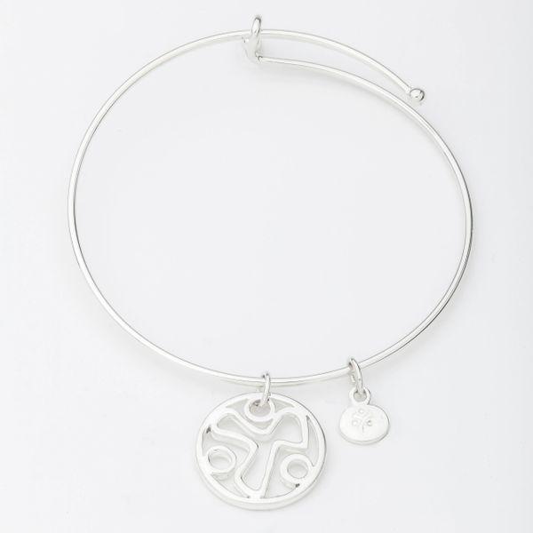 YANA Bracelet w/ YANA Symbol in Circle Charm