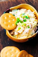 Cheddar and Green Chile Spread