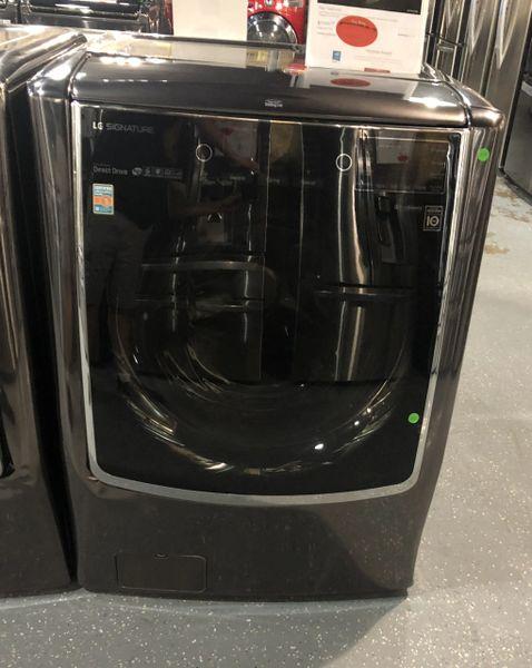 Lg Wm9500hka Lg Signature Washer 5 8 Cu Ft Scratch