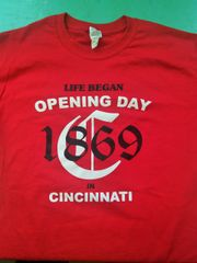 Cincinnati Opening Day Shirt