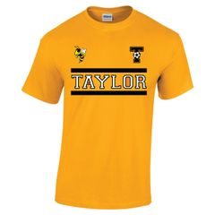 Taylor Two Bar Gold Cotton