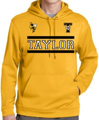 Taylor Two Bar Cotton Hoodie