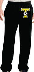 Sweatpants Cotton Black