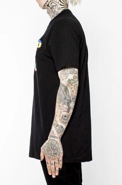 Super Pyramid Short Sleeves Tee Shirt Black Pyramid Chris Brown Turning Point A Hot Spot For