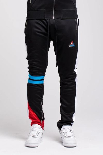 Black Pyramid Multi Color Track Pants Turning Point A Hot Spot For Men S Fashion Amp Urban Style