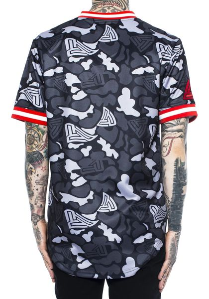 Black Pyramid B Rose Baseball Jersey Turning Point A Hot Spot For Men S Fashion Amp Urban Style