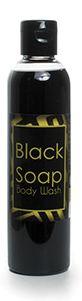 Liquid Black Soap and Body Wash .8.oz