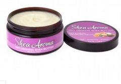 SHEA AROMA: 100% PURE NATURAL WHIPPED SHEA BUTTER: SENSUAL FRUIT 6.3 oz