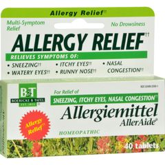 Boericke and Tafel Allergiemittel AllerAide - 40 Tablets