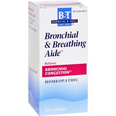 Boericke and Tafel Boericke and Tafel Bronchitis and Asthma Aide - 100 TabletsAide - 100 Tablets