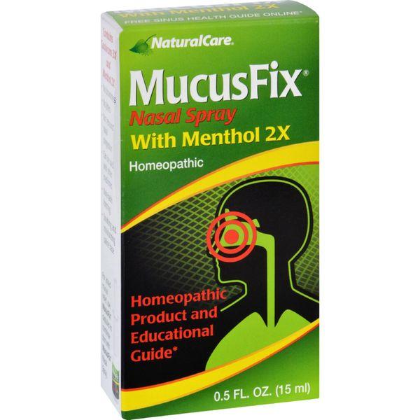 Natural Care MucusFix Nasal Spray - 0.5 fl oz