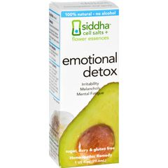 Siddha Flower Essences Emotional Detox - 1 fl oz