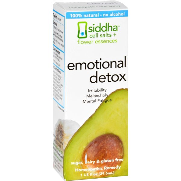 Siddha Flower Essences Emotional Detox - 1 fl oz