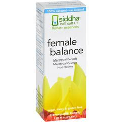 Siddha Flower Essences Female Balance - 1 fl oz