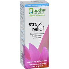 Siddha Flower Essences Stress Relief - 1 fl oz