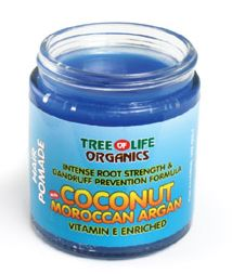 Coconut & Moroccan Argan Hair Pomade