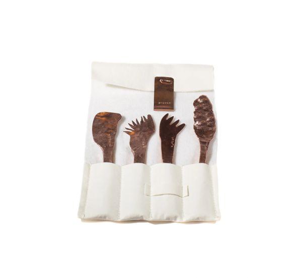 Set of four utensils, custom mix