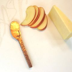 Individual soft cheese knife