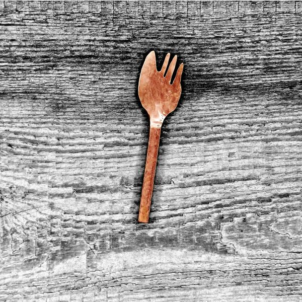 Individual knife fork