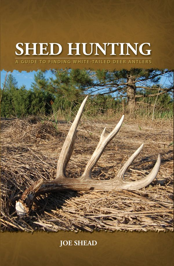 shed hunting book, Joe Shead, find deer antlers, antler shed hunting, goshed, shed hunting