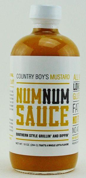 Num Num Sauce- Mustard-10oz