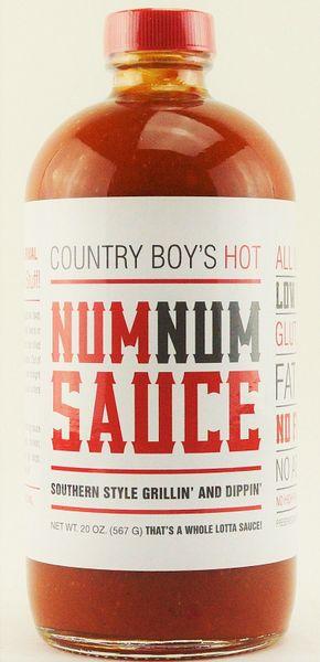Num Num Sauce- Hot-20oz