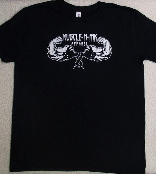 Mens Black T-shirt (front & back)