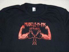 Womens Black T-shirt (front only)