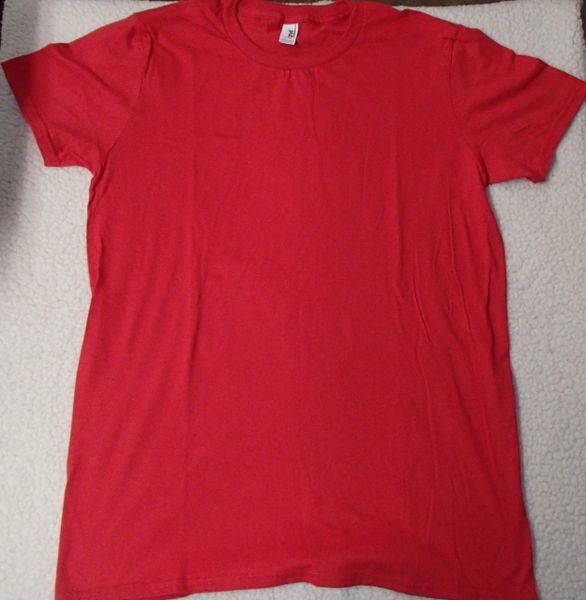 Womens Red T-shirt (front & back)