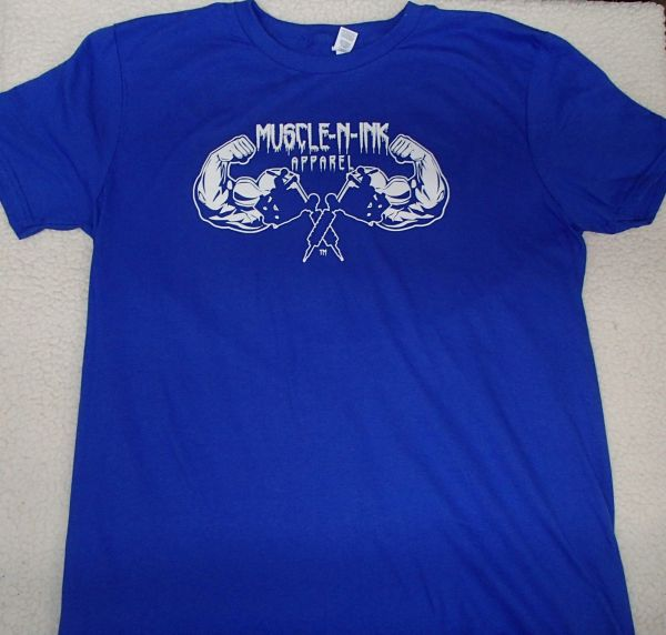Mens Royal T-Shirt (front only)