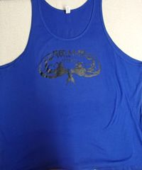 Mens Royal Tank (front & back)