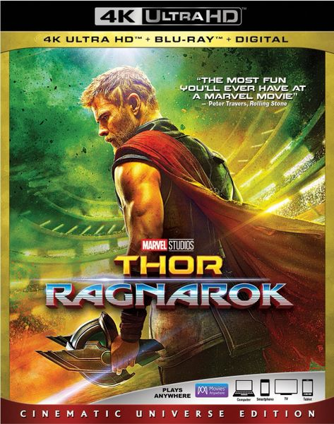 THOR: RAGNAROK 4K UHD Code only