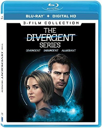 The Divergent Series 3-Film Collection Digital HD Code only