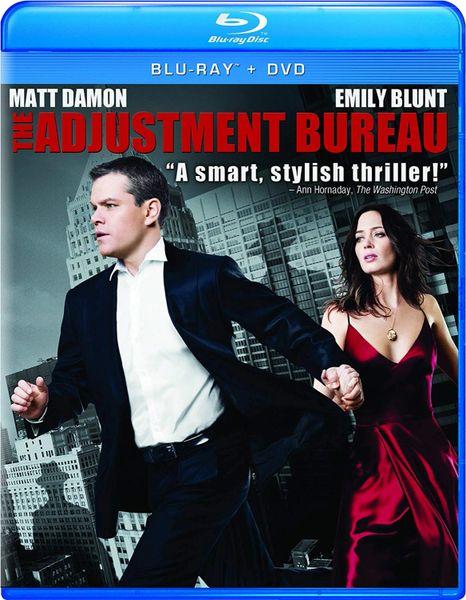 The Adjustment Bureau Digital HD Code (Movies Anywhere)