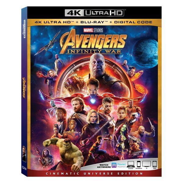 Marvel Avengers: Infinity War 4K Ultra HD Code only