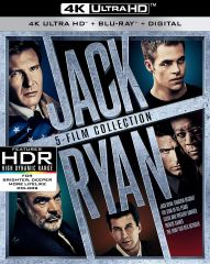 Jack Ryan 5-Film Collection 4K Ultra HD Code only