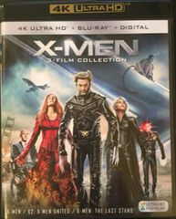 X-men Trilogy 4K Ultra HD Code only