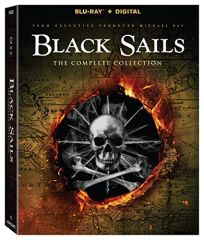 Black Sails S1 - S4 Collection Digital HD Code (UV)