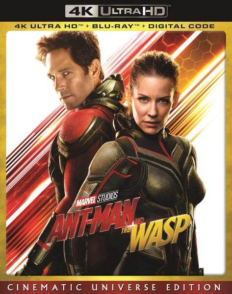 ANT-MAN AND THE WASP 4K Ultra HD Code only