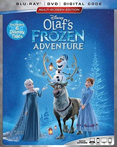 OLAF'S FROZEN ADVENTURE Digital HD Code, Limit one per customer