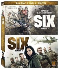 Six: Season 1 and 2 Digital HD Code