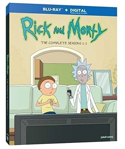 Rick and Morty: Seasons 1-3 Digital HD Code