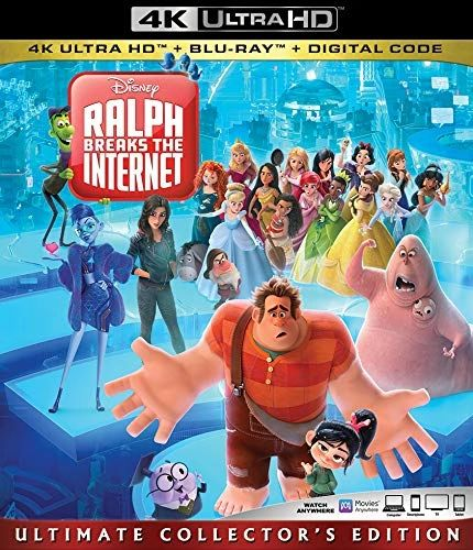 RALPH BREAKS THE INTERNET 4K UHD Code