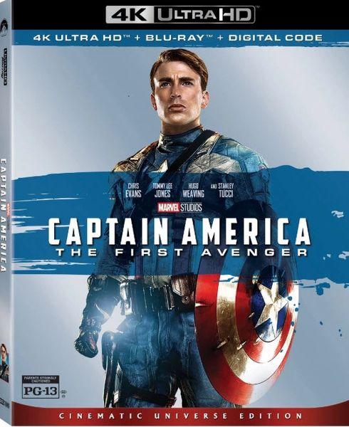Captain America: The First Avenger 4K UHD Code