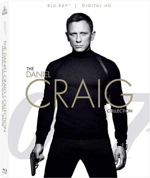 The Daniel Craig Collection 4-Movie Digital HD Code only